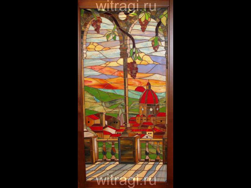 Витраж Тиффани: Витражи для дверей «Собор Санта Мария дель Фьёре»