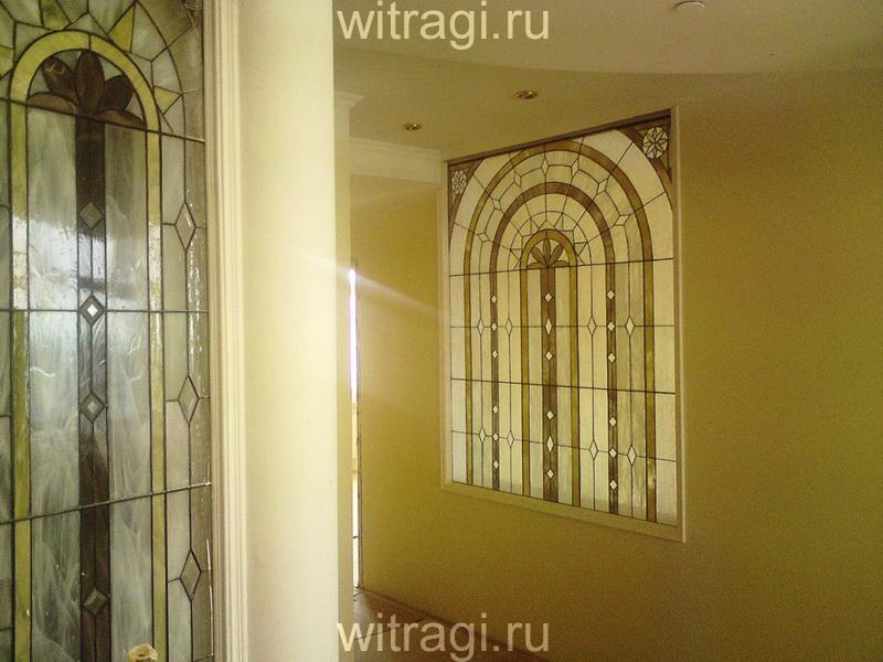 Витраж Тиффани: Витражное панно на стену