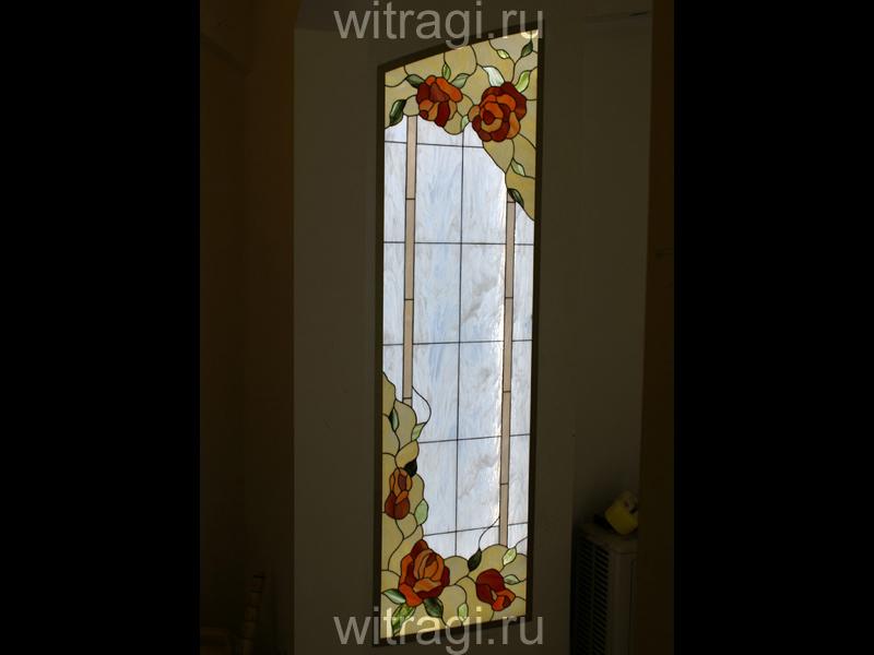 Витраж Тиффани: Витраж с подсветкой на стену
