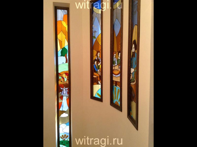 Витраж Тиффани: Витражная композиция «Властелин Колец»
